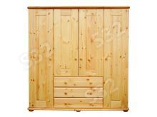 Viki 4 ajtós 3 fiókos válaszfalas szekrény, Kategória:Fenyő szekrény