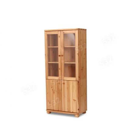 Claudia vitrines teli szekrény, Kategória:Fenyő tálaló és vitrin