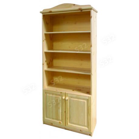 Ciklon 2 ajtós könyves szekrény, Kategória:Fenyő polc